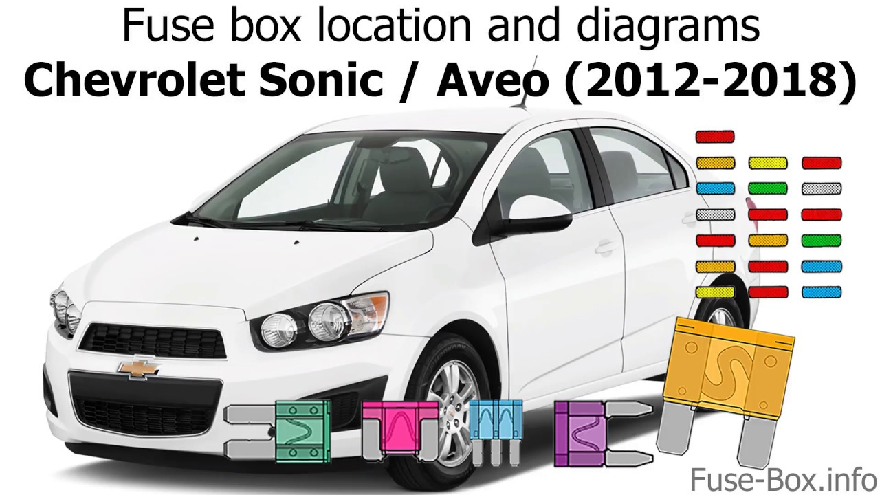 fuse box location and diagrams: chevrolet sonic / aveo (2012-2018) - youtube  youtube