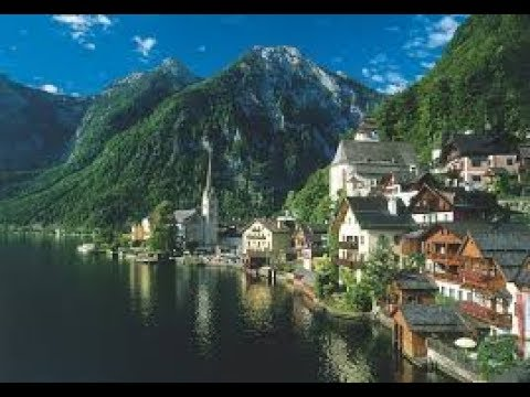 Hallstatt, Austria and Stiegl Beer Garden!
