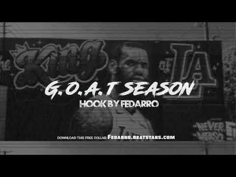 "(Free) Epic inspirational Rap Beat ""GOAT Season"" Rap Beat with Hook by Fedarro"