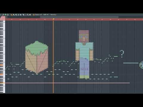 What MineCraft Sounds Like - MIDI Art