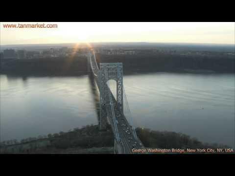Bridges of New York City 1, NY, USA, Collage Video - youtube.com/tanvideo11