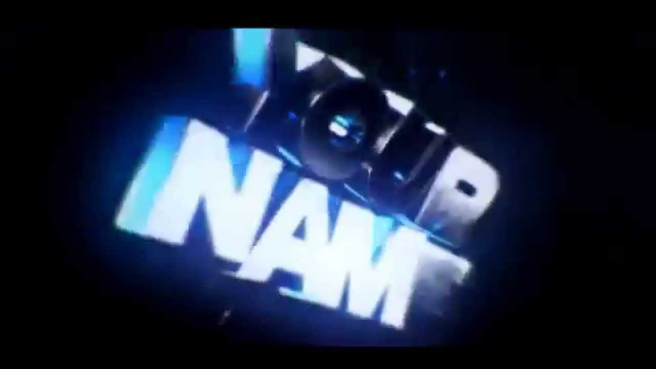 Free awesome intro template 3D [No Text] - YouTube
