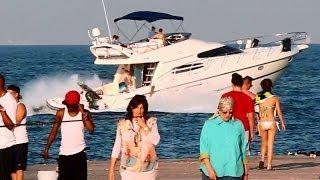 Haulover Beach Boats - April 2014 - Miami