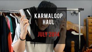 Karmaloop Haul! - July 2014 Thumbnail