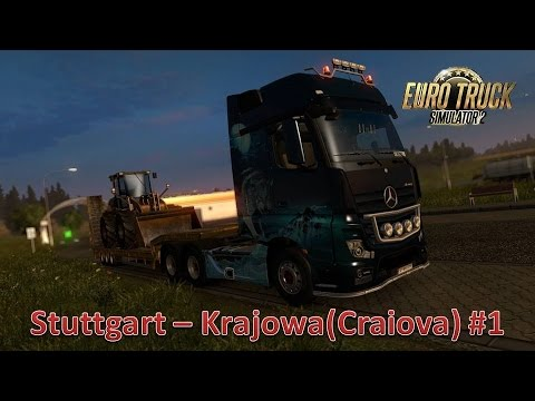 Euro Truck Simulator 2 (Stuttgart - Krajowa) #1