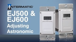adjusting astronomic feature ej500 ej600 programmable timer