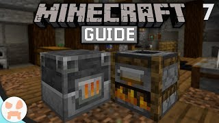 SMOKER & BLAST FURNACE! | The Minecraft Guide - Minecraft 1.14 Lets Play Episode 7