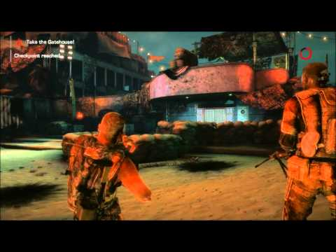 Spec Ops: The Line creepy loading screen - YouTube