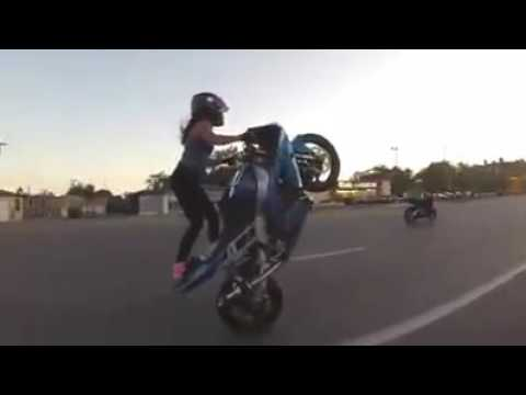 Wheelie Girl