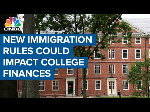 How new immigration rules for foreign students could impact college finances