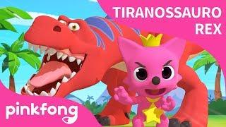 [Português] Dança Tiranossauro Rex   Canções de dinossauro   Pinkfong Canções para crianças