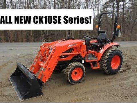 CK10SE Series - All New 2018 CK3510SE & CK4010SE Kioti Compact Tractor