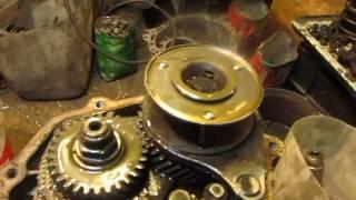 Daryo stansiyasi dan Moskvich 2141 uchun gearbox ta'mirlash . 1 ketma-ket