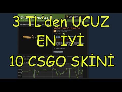 CSGO 3 TL 'den Ucuz En iyi 10 Skin !