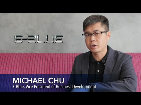 [4K] E-Blue Gaming Interview with Michael Chu