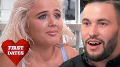 Confident Chloe Leaves Restaurant Staff Blushing | First Dates