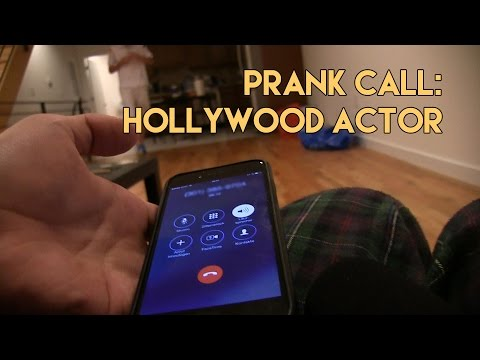 Prank Calling Hollywood Actor ft. Zurich The Russian