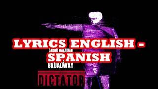 Daron Malakian and Scars On Broadway - Angry Guru LYRICS ENGLISH - SPANISH