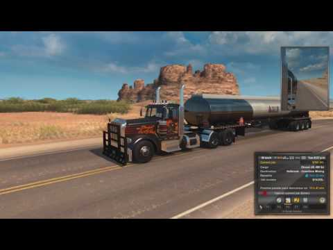 American Truck Simulator Cap. 72 Destino Holbrook - Coastline Mining Diesel LB 42,498