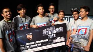 WALAWEI | JUNIOR CATEGORY CHAMPION SHOWDOWN 2013