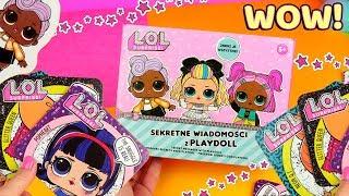 LOL Surprise HairGoals • Sekretne wiadomości z Playdoll • kreatywny zestaw • Toys Land