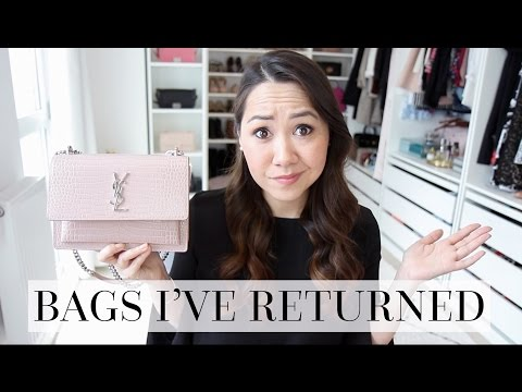 BAGS I'VE LOVED, BOUGHT... AND THEN RETURNED (& WHY!)