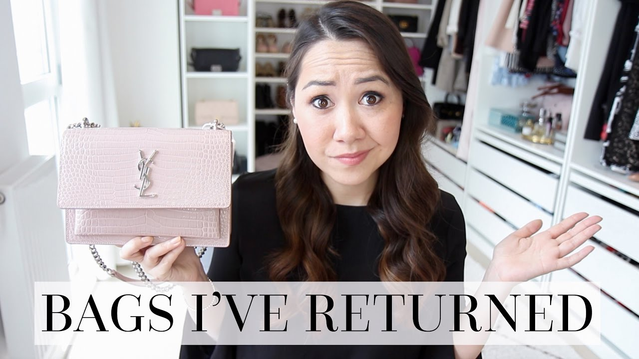c1586f6da185 BAGS I'VE LOVED, BOUGHT... AND THEN RETURNED (& WHY!) - YouTube
