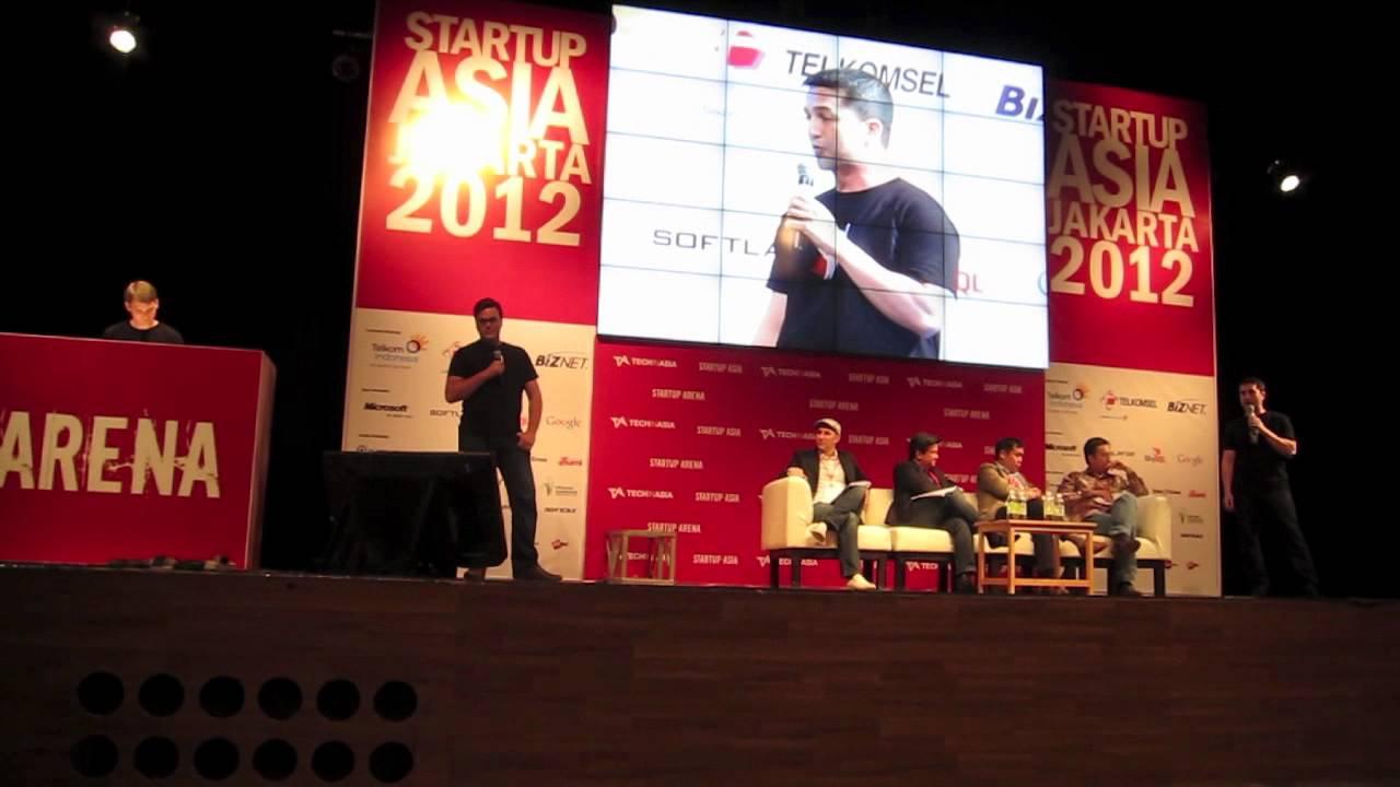 PayrollHero Startup Asia Pitch in Jakarta, Indonesia