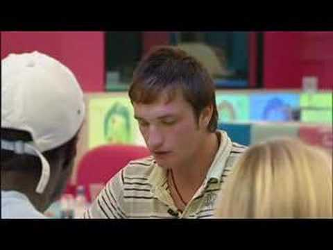 Big Brother 8 UK: Liam Argues With Brian + Makes Amanda Cry