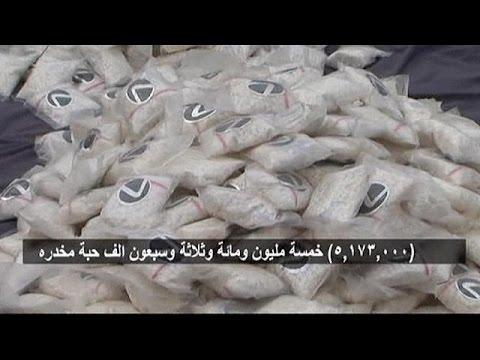 S.Arabistan'da Uyuşturucu Kaçakçılarına Suçüstü