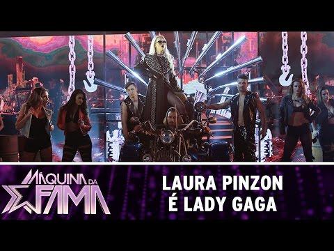 Máquina da Fama (09/05/16) Laura Pinzon é Lady Gaga