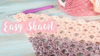 Today I show you how to crochet a lacy version of the arcade stitch. This stitch is a wonderful stitch for making into shawls as it works to a triangular increasing ...