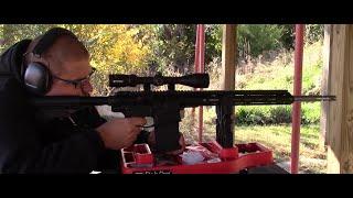 Bear Creek Arsenal Aero Precision M5 6.5 Creedmoor Rifle Range Test!