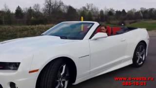 Аренда кабриолета Chevrolet Camaro на свадьбу от салона Vesta