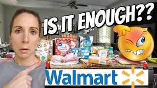 EMERGENCY PREPAREDNESS🚨 WALMART GROCERY HAUL