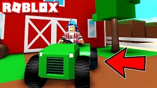 UPDATE WITH TRACTORS!!! ROBLOX FARMING SIMULATOR
