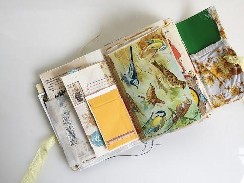 Vintage Junk Journal Flip Through