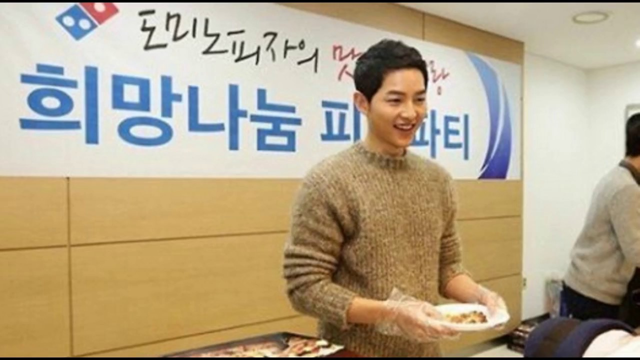 Song Joong Ki at Seoul National University Hospital
