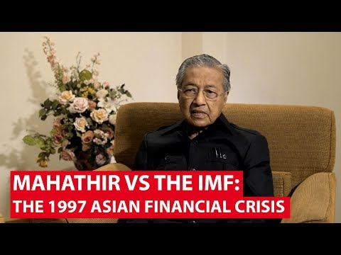 Mahathir vs The IMF: The 1997 Asian Financial Crisis   Insight   CNA Insider