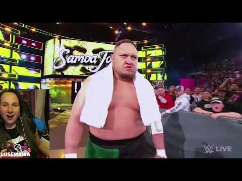 WWE Smackdown Shakeup 4/17/18 Samoa Joe on Smackdown