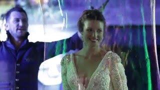 Свадьба..Шоу..и мыльные пузыри!
