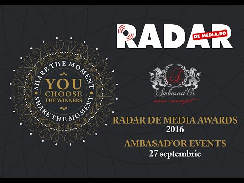 GALA PREMIILOR RADAR DE MEDIA 2016