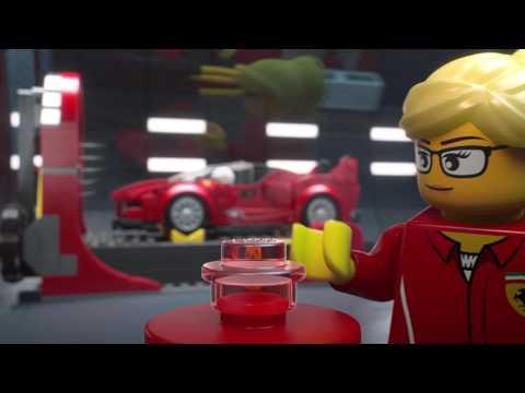 Ferrari FXX K & Development Center - LEGO Speed Champions - 75882 - Playstarter Animation