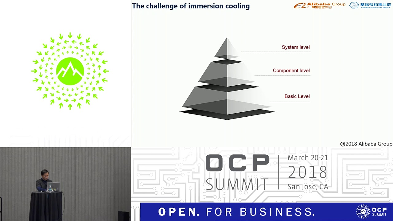 OCPUS18 – Best Practice of Alibaba Datacenter-Immersion Cooling ...