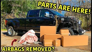 Rebuilding A Wrecked 2019 Ford F-450 Platinum Part 3