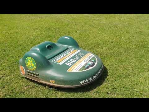 Belrobotics Bigmow And Parkmow Robot Mowers Better Then A Cylinder Mower On Pitches