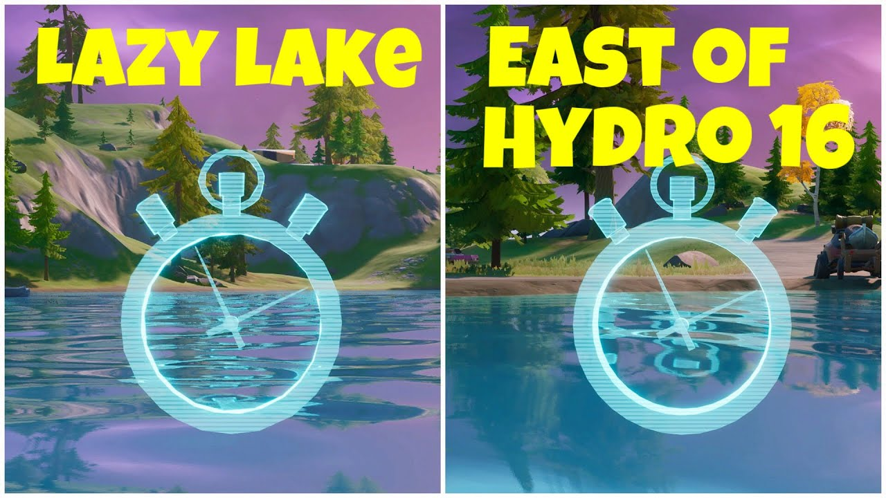 Complete the Swimming Time Trials at Lazy Lake and East of ...