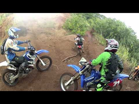 dirt biking thru Pearl City - Mililani, Hawaii filmed wit GoPro