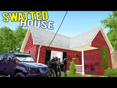 SWATTED HOUSE GETS FLIPPED AT POLICE AUCTION FOR HUGE MONEY? - House Flipper Beta Gameplay