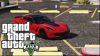 GTA 5 PC MOD - 2014 Chevrolet Corvette C7 Stingray [Add-On] by Aige